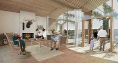 C.F. Møller and Tredje Natur win Future Sølund Care Centre in Copenhagen