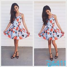 """Photos: Rowan Blanchard Beautiful In A Floral Dress For """"Once"""" Premiere July 17, 2014"""