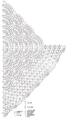 Delicate shawl