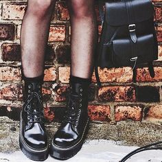 「#DrMartenStyle shared by @luanna90 wearing the #DrMartens Jadon Boot.」
