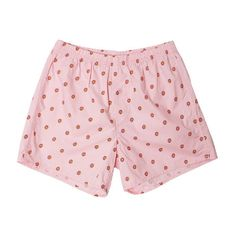Odd Future Pink Donut Boxers ($21) ❤ liked on Polyvore featuring intimates, panties, shorts, short boxers, odd future, pink boxers and print boxers