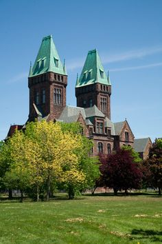 One of our favorite (and certainly haunted) pieces of Buffalo architecture, the abandoned Buffalo State Hospital in the H. H. Richardson Complex
