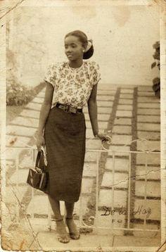 Praying mother vintage