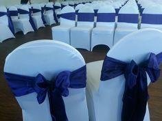 Regency purple and white spandex