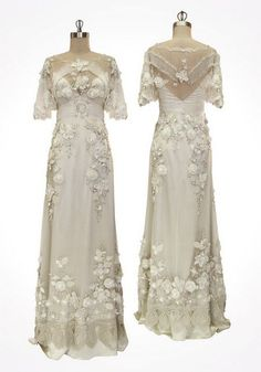 1900's - This makes me want to CRY I love it so much! Beautiful! #weddingdress