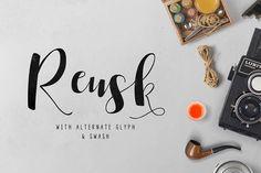 Reusk Script by vuuuds on @creativemarket