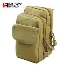 Airsoft Sports Military MOLLE Utility Bag Tactical Vest Waist Pouch Bag For Phone Case Tool Outdoor Hunting Wasit Pack Gear