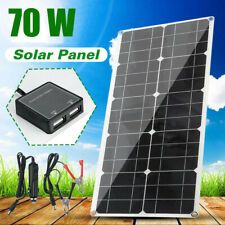 12v Bendable Semi Flexible Solar Panel 40w 50w 100w Mono Poly For Boat Car Rv