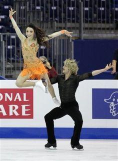 Davis & White...<3 Figure Skating