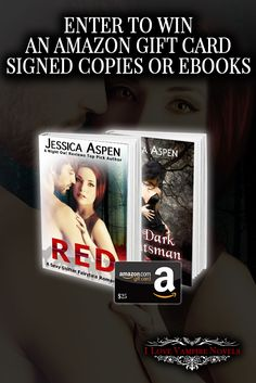 Win a $25 Amazon Gift Card, Signed or eBook Copies from Author Jessica Aspen http://www.ilovevampirenovels.com/giveaways/win-25-amazon-gift-card-author-jessica-aspen/?lucky=356392