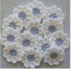 Horgolt virágok rendszereket.  Hogyan Kötött horgolt virágok mikron |  Takarítás az egész család számára.