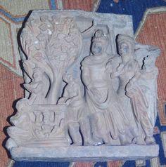 The Temptation by Mara and his Daughters Gandhara Archives Kurita