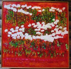 Reidar Särestöniemi by tvbrt, via Flickr Scandinavian Paintings, Abstract Landscape, Reindeer, Scenery, Drawing, Pictures, Photos, Grouse, Paul Klee