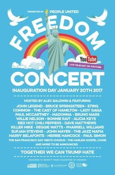 All the greats that Trump wanted to perform at his inauguration!