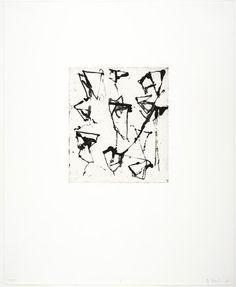 Brice Marden, Etchings to Rexroth, 1986 · SFMOMA