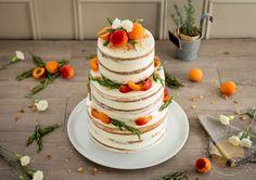 Naked cake aux abricots et au romarin - Sucre d'Orge et Pain d'Epices
