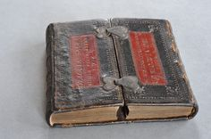 Girdle books are a special type of medieval binding where part of the leather cover extends over the wooden boards and hangs down freely from the lower part of the book when reading. Description from pinterest.com. I searched for this on bing.com/images