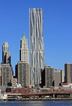Eight Spruce Street | New York by Gehry, Manhattan, New York City, USA, 2006 — 2011 | José Miguel Hernández Hernández