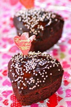 「【バレンタイン】簡単チョコカップケーキ」ロッキン   お菓子・パンのレシピや作り方【corecle*コレクル】