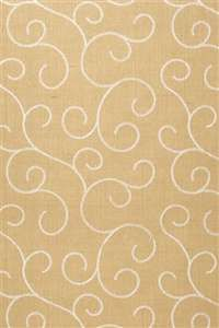 Schumacher Wallpaper   5003541   Adhafera Scroll   Straw   Mahones Wallpaper Shop