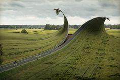 Cut and fold by Erik Johansson