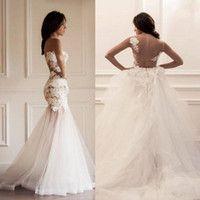 Wedding Dresses with Detachable Skirt - Wholesale Dividual Wedding Dresses | DHgate - Page 3