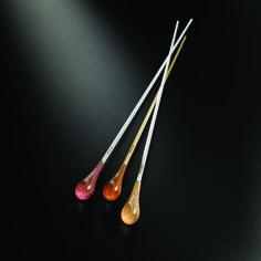 """S"" Series Baton | Mollard Conducting Batons 12in. Purpleheart and natural birch"