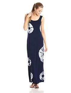 Bailey 44 Women's Shibori Tie-Dye Jersey Maxi Dress, Navy, Medium Bailey 44 http://www.amazon.com/dp/B00PGQLEB2/ref=cm_sw_r_pi_dp_ULs5ub0VH2NJS
