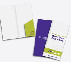 FITfuture Brochure Folder Design & Print - By CREATIVA Design Studio