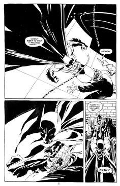 Batman Dark Victory, Issue 7 page 19 by Jeph Loeb, Tim Sale - Comic Strip