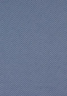 HAVEN HERRINGBONE, Marine Blue, W80009, Collection Portico from Thibaut