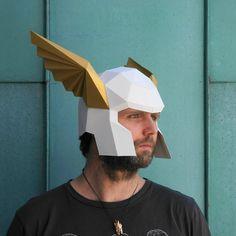 Winged Herald's Helmet   Make your own using a par Wintercroft