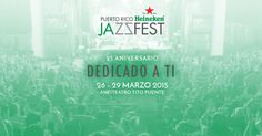The Puerto Rico Heineken JazzFest celebrates its 25th anniversary in dedication to the fans that have supported the event for the past 24 years. Enter here to learn more about the artists that will be participating and to learn all the information about the event.