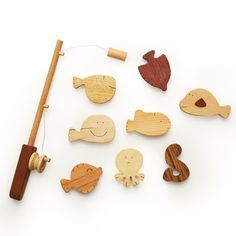 Wooden Fishing Play Set | Soopsori | $39.99 | DIGS | Free shipping on orders over fifty dollars | Modern furniture, housewares, decor & gift items.