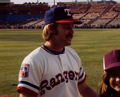Arlington Stadium - Texas Rangers - Arlington, Texas (Toby Harrah)