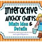 Main Idea and Details - Anchor Chart   This Packet Includes:16 Colorful Display Pieces for your Anchor Chart or Word Wall3 Main Idea and Detail...