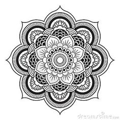 Mandala Templates | Royalty Free Stock Image: Mandala . Mandala Illustration Round ...