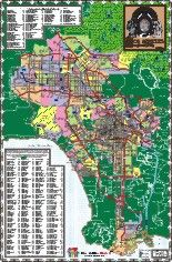 General Population By City Los Angeles County, 1850 - 1900