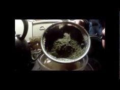 how to make marijuana tea with coconut oil