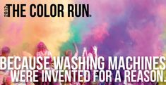 I've always wanted to start on the marathon train ... why not start small YET extremely fun with the 5K colour run!?