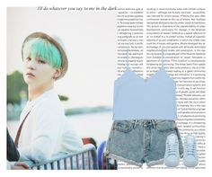 """""""Yoongi"""" by hitthisfeeling ❤ liked on Polyvore featuring Oris, adidas and Cartier"""