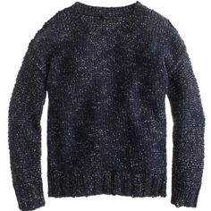 J.Crew blue marled drop shoulder sweater.Sz M BNWT J.Crew blue marled drop shoulder sweater. Sz M. 44% Cotton, 37% Acrylic, 8% Wool, 6% polyester, 5% Alpaca. Super soft and comfy. Brand New, never worn. J. Crew Sweaters
