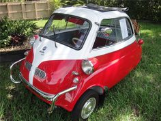 1957 BMW ISETTA COUPE My dad owned one of these.