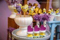 Minions menina – 1º Aniversário » Priscilla Pandolfo party girl