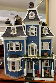 Miniature Houses, Miniature Dolls, Fairy Houses, Doll Houses, Beacon Hill, Miniature Furniture, Little Houses, Faeries, Minis