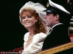 The royal wedding of Fergie and Andrew