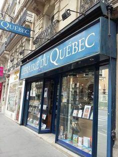 Librairie du Québec à Paris  http://lesptitsmotsdits.com/librairie-du-quebec-paris-petit-bonheur/