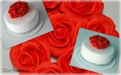cake with roses - dort s růžemi