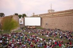 So sad to miss the outdoor movies at the castle in Barca this year.