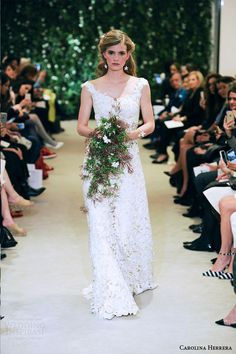 Carolina Herrera Bridal Spring 2016 Wedding Dresses | Wedding Inspirasi